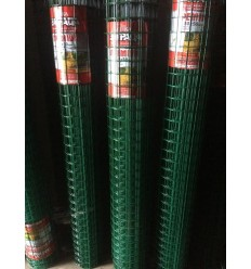 Сетка сварная Заграда Премиум + ПВХ в рулоне 1,5*25м.
