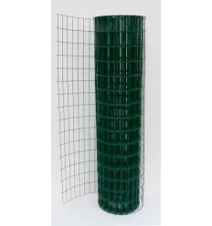 Сетка сварная Заграда Классик + ПВХ в рулоне 1,5*25м