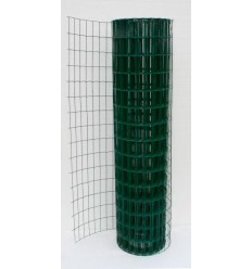 Сітка зварна Заграда Класик + ПВХ в рулоні 2 * 10м