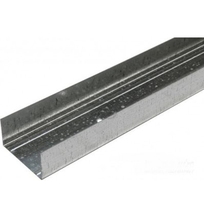Профиль для гипсокартона Ultrastill UW 75 3м (0,60 мм)
