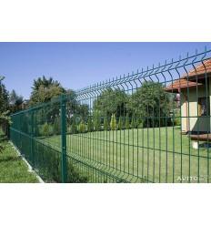 "Забор секция ""Эко Стандарт Заграда"" оцинк. + ПВХ яч. 50х200мм, 1,7 х 2,5м"