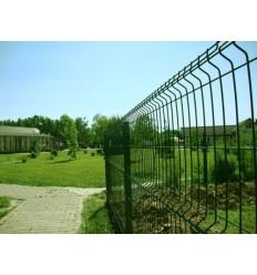 Забор Заграда Стандарт секция оцинковка + полимер яч. 50х200мм, 1,5 х 2,5м