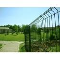 Забор Заграда Стандарт секция оцинковка + полимер яч. 50х200мм, 1,26 х 2,5м
