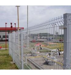 """Забор Заграда """"Стандарт"""" секция оцинкованная яч. 50х200мм, 2 х 2,5м"""