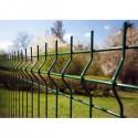 """Забор Заграда """"Стандарт Пром"""" секция оцинковка + полимер яч. 50х200мм, 1,5 х 2,5м"""