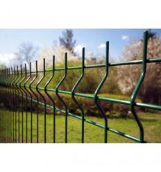 """Забор Заграда """"Стандарт Пром"""" секция оцинковка + полимер яч. 50х200мм, 1,26 х 2,5м"""