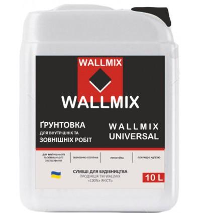 Wallmix Universal грунтовка глубокого проникновения