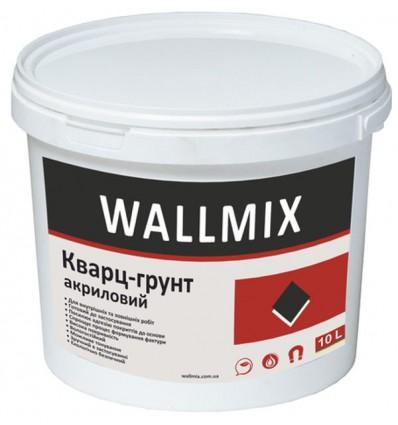 Кварц-грунт Wallmix акриловый, 10л / 15кг