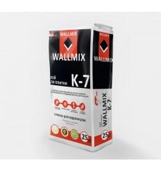 Wallmix К-7 клей для плитки Волмикс, 25кг