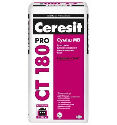 Церезит СТ 180 Про клей для приклеивания минеральной ваты, 27 кг
