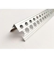 Куточок перфорований алюмінієвий 31,5х31,5мм (0,45 мм) ПРЕМІУМ, 3м