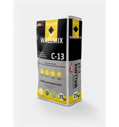 Wallmix C-13 штукатурка цементная для внутренних работ, 25кг