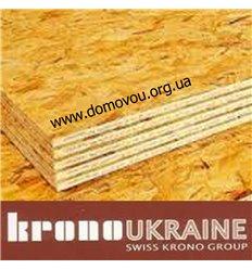osb плита КроноУкраина Украина 1,25 х 2,5 х 8 мм