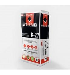 Wallmix K-27 клей для плитки високоеластичний Волмікс, 25кг