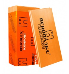Пеноплекс Основа 100мм пінополістирол екструдований 1185х585мм, упаковка 4 листа