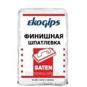 Сатен Экогипс Шпаклёвка финишная Турция Ekogips Saten, 25 кг