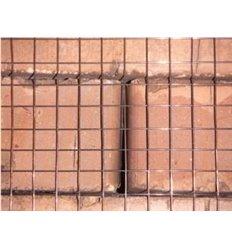 Сетка сварная штукатурная 12х12х0,9 мм чёрная (30м.п.)