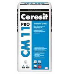 Клей Ceresit СМ-11 Pro для плитки і керамограніта Церезіт, 27 кг