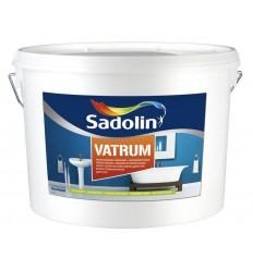 SADOLIN VATRUM (Садолин Ватрум) влагостойкая белая краска для стен и потолка