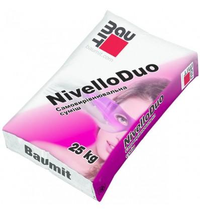 Baumit Nivello Duo самовыравнив. смесь (2-20 мм), 25кг
