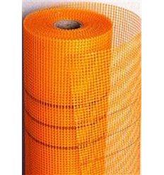 Сетка штукатурная пл. 160г/м2 ячейка 5х5мм (оранж), 50м2