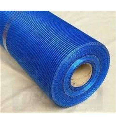 Сетка штукатурная пл. 145 г/м2 ячейка 5х5мм (темно-синяя),50м