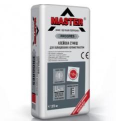 Мaster клей для плитки Мастер Прогрес усиленный, 25кг