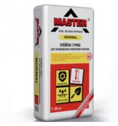 Master клей для плитки Мастер Нормал, 25 кг