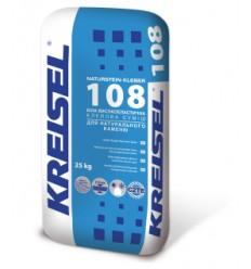 Kreisel 108 клей для каменю, керамограніту Крайзель 108 білий, 25кг