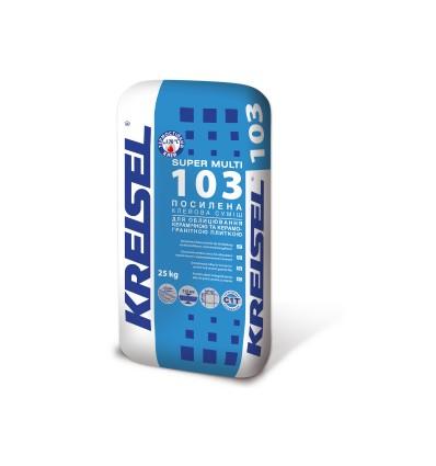 Крайзель 103 Super усиленный клей для плитки, 25кг