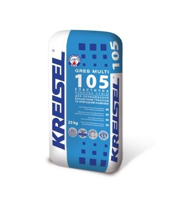 Клей для плитки Крайзель 105 Грес эластичный, 25кг