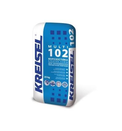 Крайзель 102 Multi клей для плитки, 25кг