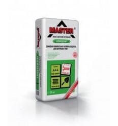 Master Горизонт самовирівнююча суміш для підлог Майстер 3-15 мм, 25кг