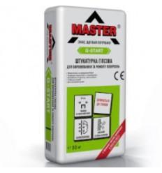 Master G-Start Штукатурка стартова гіпсова Майстер Джі Старт, 30 кг