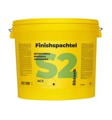 Шпаклівка акрилова Шток S2 Фінішспахтель готова Shtock S2 Finishspachtel, 27 кг