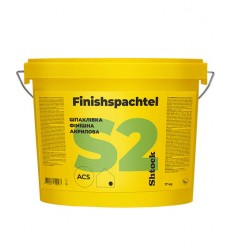 Шпаклівка акрилова Шток S2 Фінішспахтель готова Shtock S2 Finishspachtel, 17 кг
