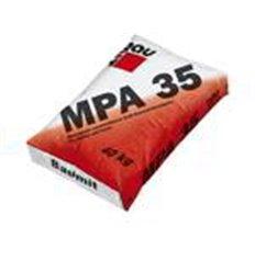 Штукатурка цементная Баумит MPA-35 машинного нанесения, 25 кг