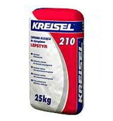 Клей Крайзель 210 для приклеивания пенопласта и экструдированного пенополистирола, 25кг Зима