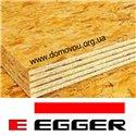 ОСБ-3 плита Еггер вологостійка 18мм * 1,25 м х 2,5 м Egger Румунія