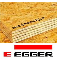 ОСБ-3 плита Эггер влагостойкая 10мм*1,25 х 2,5м Egger Румыния