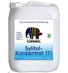 Грунтовка силикатная Капарол Сулитол концентрат 111 прозрачная (2:1), 10л