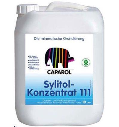 Капарол силикатная грунтовка Sylitol 111 Konzentrat, 10л