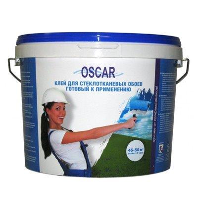 Оскар готовый клей для стеклообоев Oscar, 5кг
